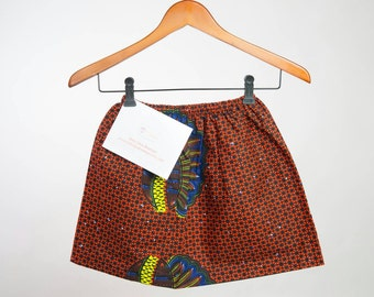African clothing, Toddler skirts, African toddler skirt, African skirt, Ankara toddler skirt, Ankara skirt, Ankara toddler, African clothes