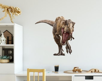 T-Rex 1 Dinosaur Wall Decal Sticker Jurassic World Dino Removable Vinyl  Peel and Stick Wall Art for Kids Bedroom 8115ffa28c