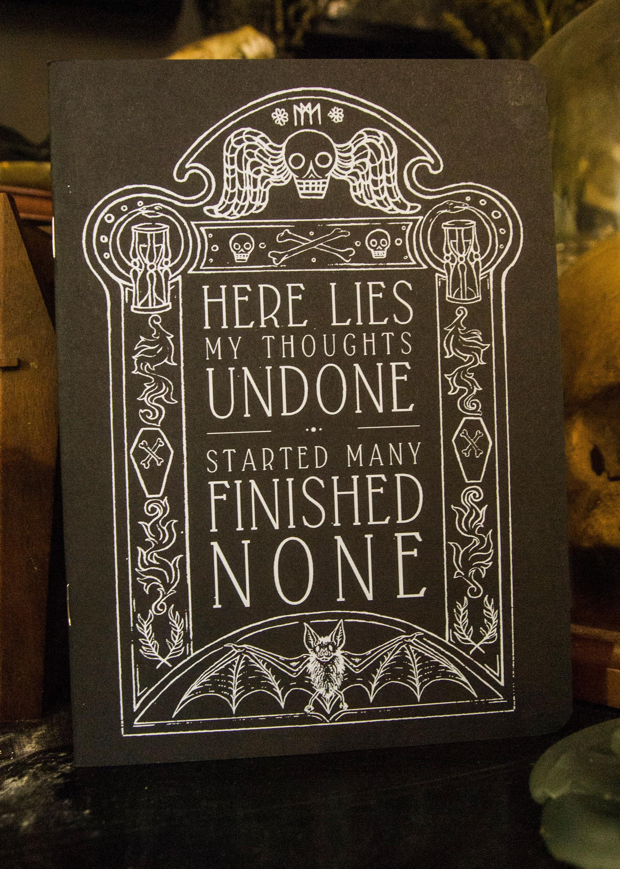 Gravestone Sketchbook