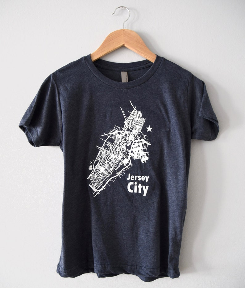 Jersey City graphic tee  Adults and Kids t-shirt image 0