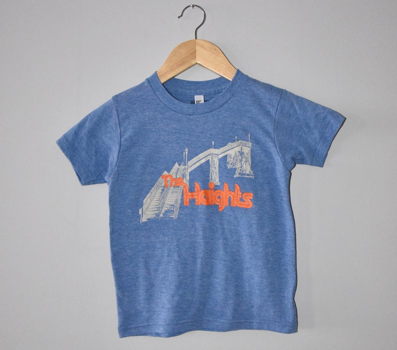 Jersey City Heights tee  Kids graphic t-shirt image 0