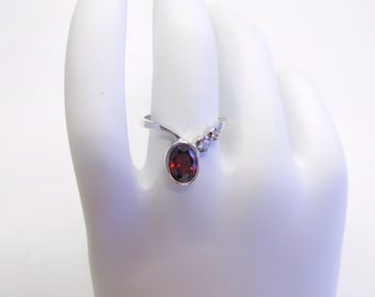 Birthstone Ring - Personalized Ring - January