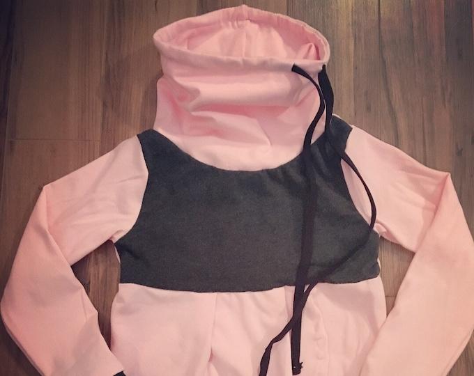 girls hooded dress