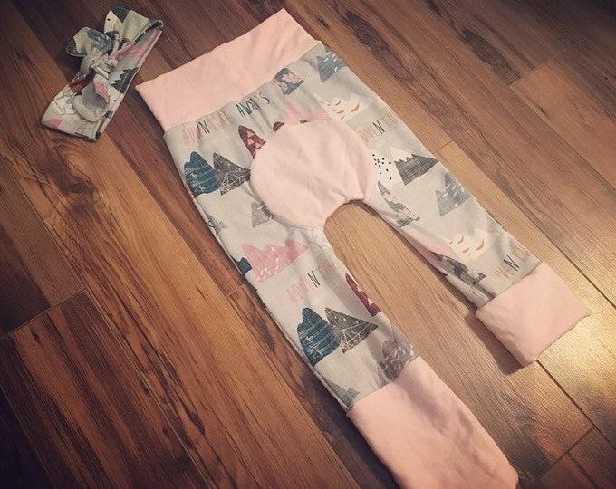 Kids grow pants