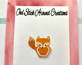 Metal Fox Planner Clips/Page Clip/ Bookmark
