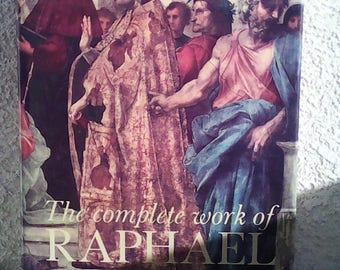 649 pg. Complete works of  Raphael  EH/mm