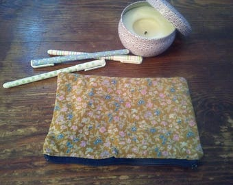 Case / pouch for pens, makeup, cored everything...