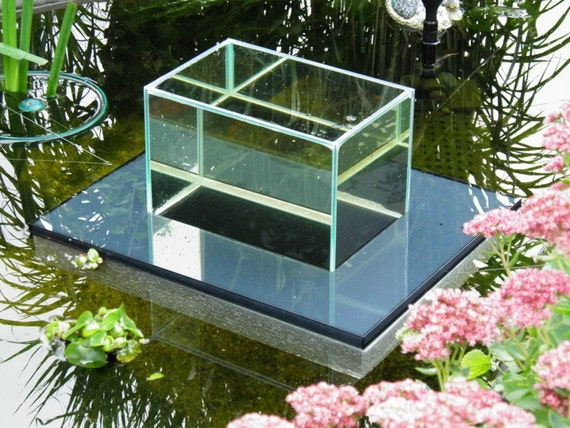 flying aquarium linear 1200 gray fish observatory observation etsy. Black Bedroom Furniture Sets. Home Design Ideas