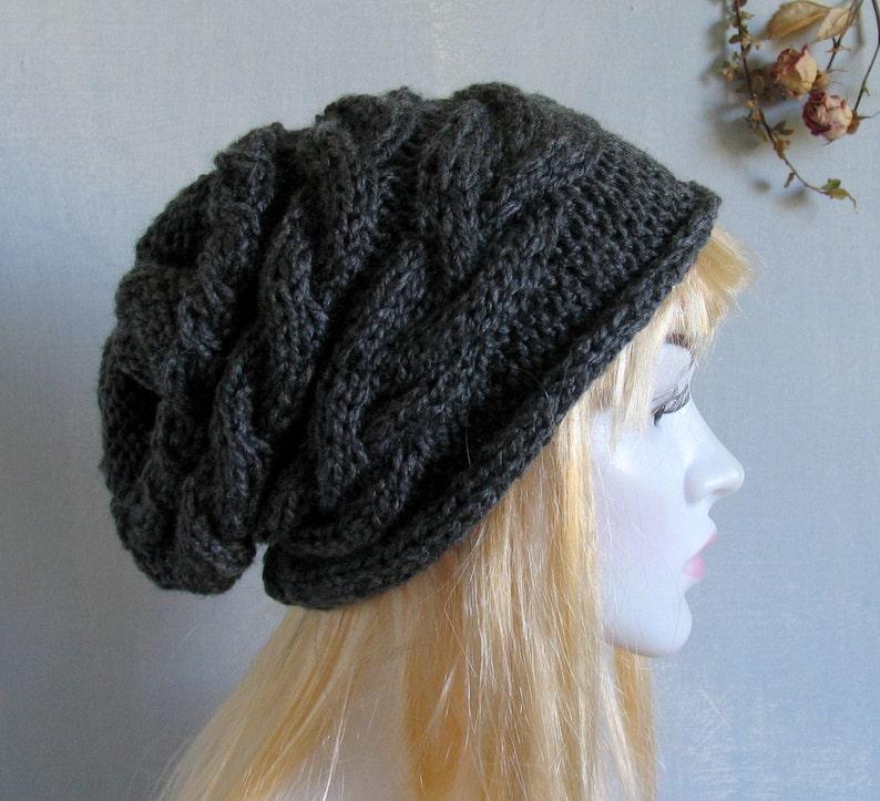 d5ecbf12c13 Women Knit Hat Womens Hat Slouchy Hat Slouchy Women Hat Slouch