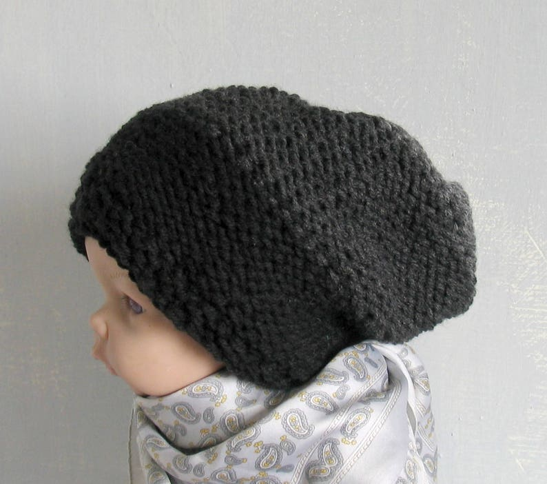 800d4562fe5 Toddler Slouch Hat Girls Slouchy Beanie Slouch Beanie Boys Kids Children  Toddler Knit Hat Slouchy Seanie Slouchy Hat Knit Toddler Hat