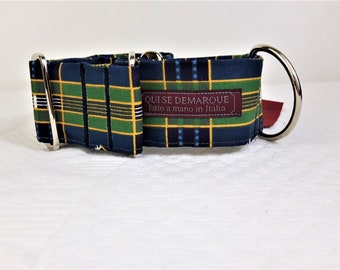 Martingale collar for greyhounds, British