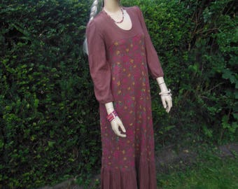 Vintage Hippie India cotton dress, almost new, size small.