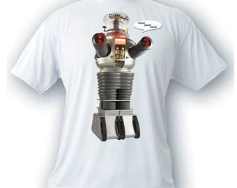 lost in space B-9 robot vintage image t-shirt