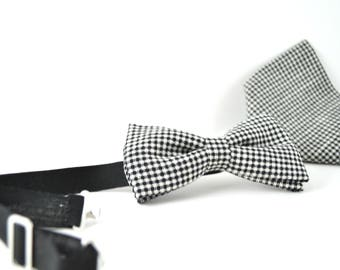 Bow tie + Pocket Square Made in Italy