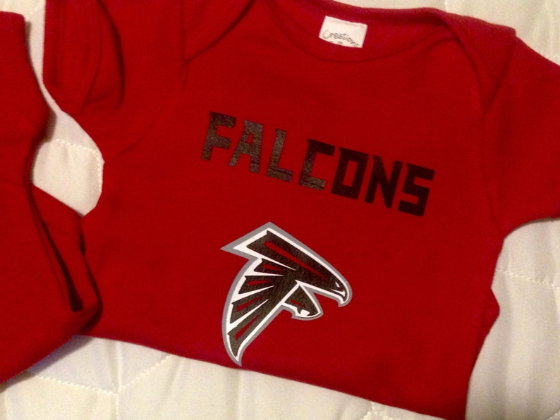 best sneakers 36fb3 fd754 Atlanta Falcons Baby Romper