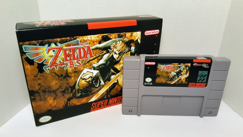 The Legend of Zelda: B S  - English SNES ntsc Hack BS - Both Maps available