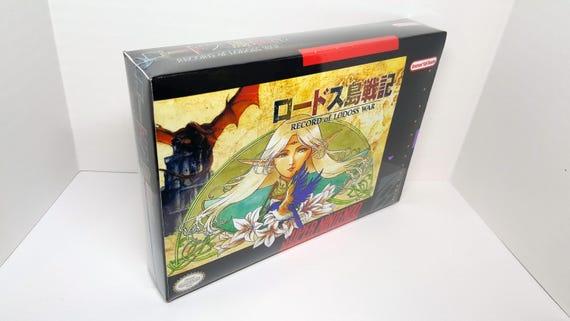 Record of Lodoss War - English Translation SNES NTSC