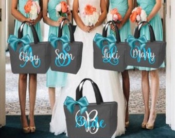 6a6fe09dc5565 Bridesmaid tote bags
