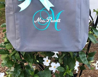 Bridesmaid tote bags , Set of 4 bridesmaid gifts , tote bag , beach bag , bachelorette party gift ,wedding bag , wedding tote bags