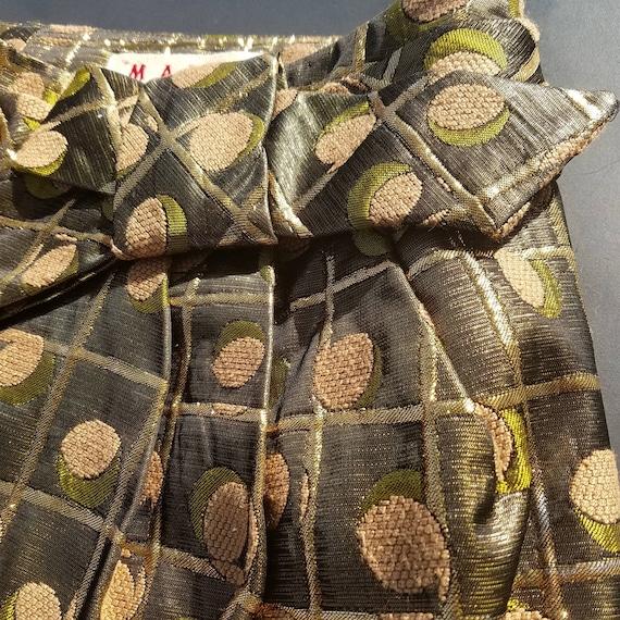 Marni Metallic Jacquard Skirt - image 2