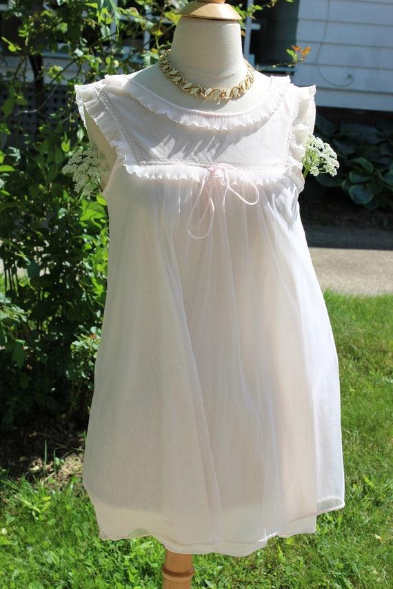 1950's Evette chiffon lingerie