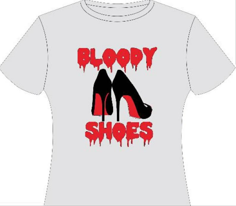 e52388479fae Bloody Shoes T-shirt