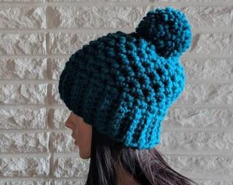 20fd0eb3714 Women s chunky pom hat