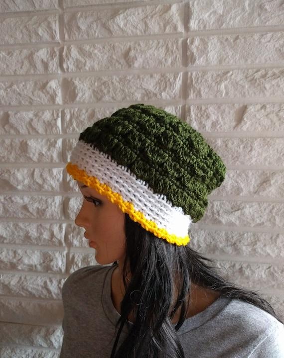 Women s Green Bay Packers beanie green winter hat  017ce0cf1