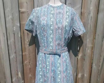 Cedar Glen Paisley Day Dress