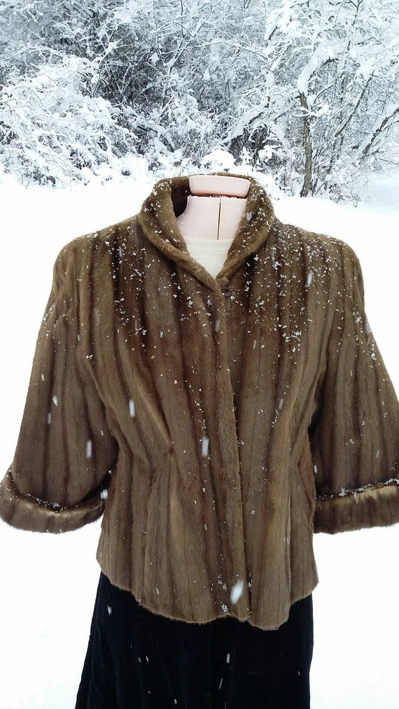 Beautiful Muskrat Swing Jacket