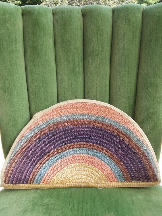 Woven Rainbow Purse