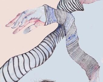 """Limbs (8.5"""" x 11"""" Matte Art Print)"""