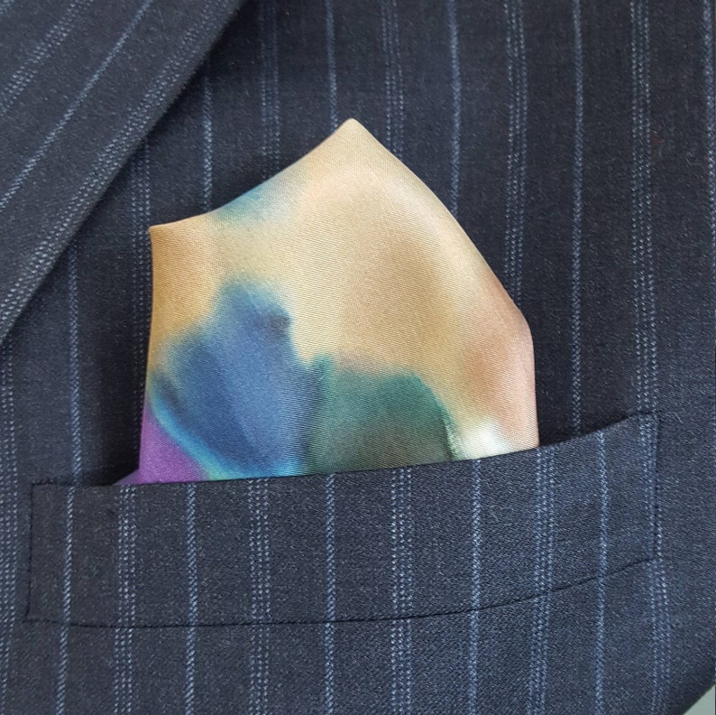 one of a Kind Men/'s Pocket Squares Great for Wedding Parties and Gifts Unique