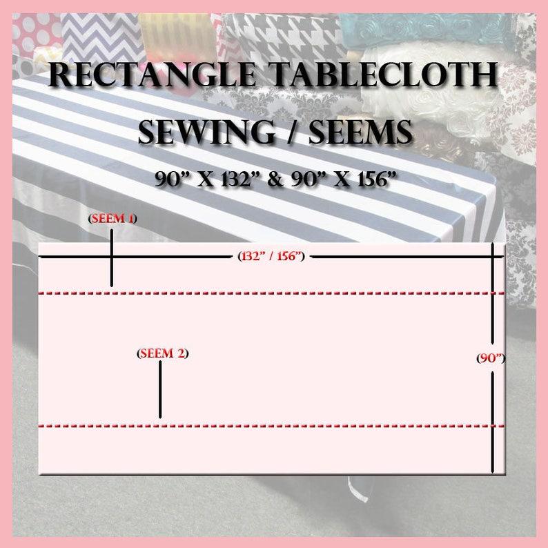 Checker Cotton Rectangle Tablecloth 58 X 108 inches RedWhite