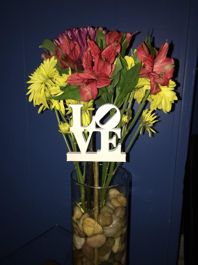 Philadelphia Love Statue for Flower Bouquet!