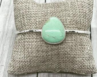 Custom Turquoise Cuff Bracelet