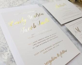 elegant invitations etsy