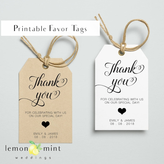 graphic regarding Thank You Gift Tags Printable called Printable like tags, printable particular person prefer tag, marriage like tags, thank yourself reward tags, printable tags for wedding day, marriage choose tags