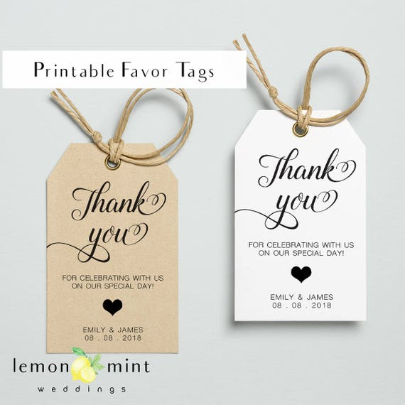 image about Thank You Gift Tags Printable known as Printable choose tags, printable person desire tag, wedding ceremony want tags, thank yourself present tags, printable tags for marriage ceremony, wedding ceremony want tags