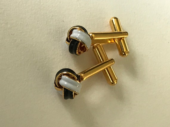 Vintage men/'s with green enamel on relief of clover and white mother of pearl rectangle shaped  Fashion Cuff Links,Wedding Party