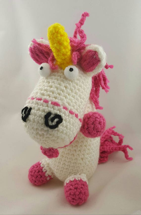 Fluffy Unicorn Free Crochet Pattern | Unicornio crochet, Ganchillo ... | 871x570
