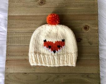 c7dc5fff332 Baby fox hat
