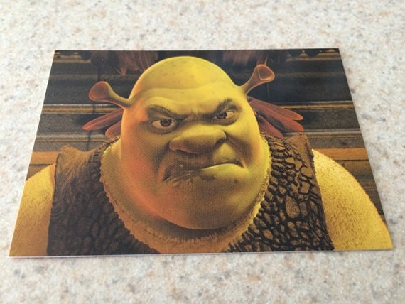 Shrek 2 Movie Trading Card Dreamworks Etsy