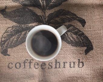 Petunia Roast, Ethiopian coffee, small batch coffee roaster (Pigsburgh Squealers)