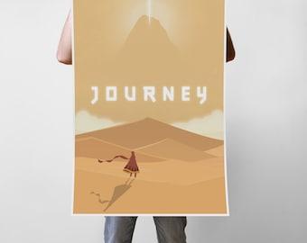 Journey Art Print Poster - Multiple Sizes