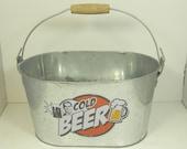 cold beer bucket, bbq season coming