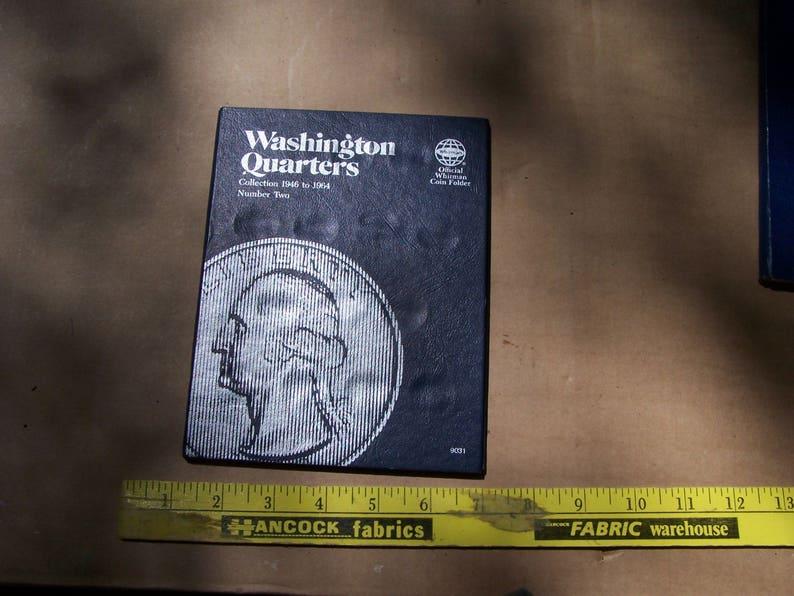 WHITMAN COIN FOLDER # 9031 WASHINGTON QUARTERS
