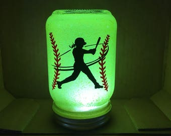 Softball Nightlight-Swing for the Fences