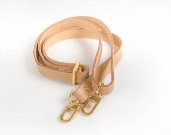 """5//8/"""" x 28/""""-50/"""" ADJUSTABLE Replacement Leather//TRIGGER Snap Shoulder Bag Strap"""