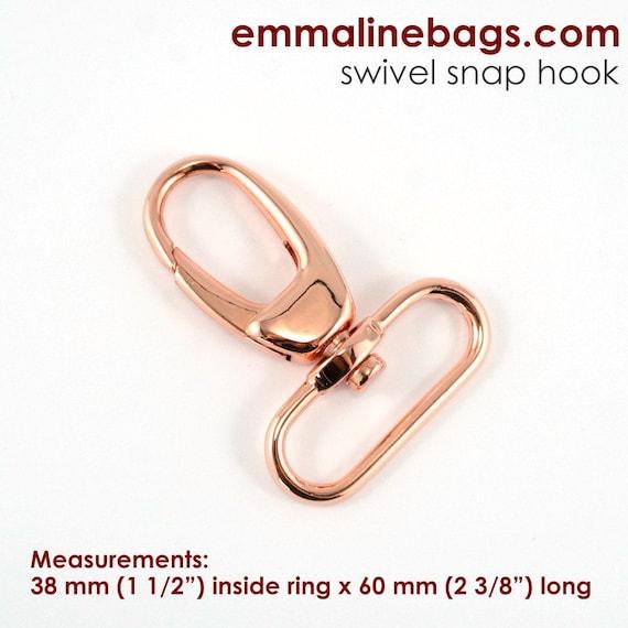 Copper 1 2 Swivel Snap Clasp